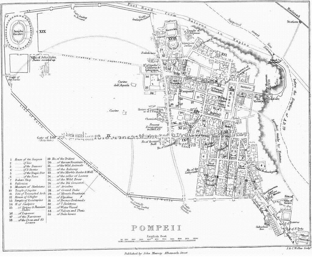 Pompeii 1868 Murray